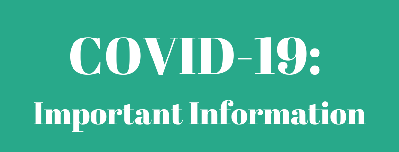 COVID-19 Important Information Banner Image
