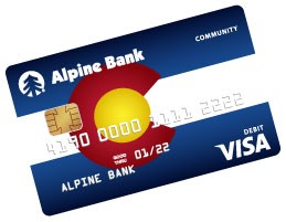 Alpine Bank Community Debit Card